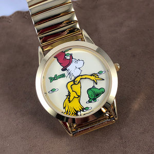Tick Tocking Time Tickers Accessories - Vintage 1997 Dr. Seuss Green Eggs and Ham Watch
